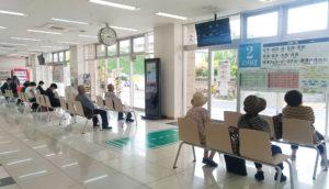 唐津バスセンター(大手口)の乗り場