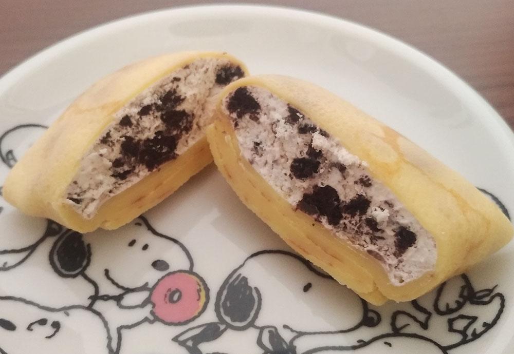 ラップドクレープコロットのチョコクッキークレープ