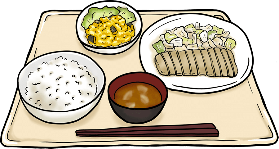 治験の夕食
