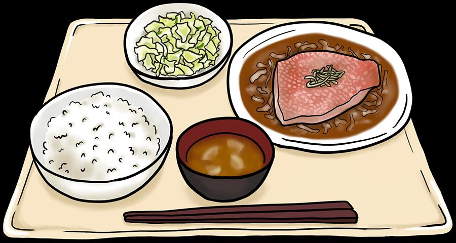 治験の昼食