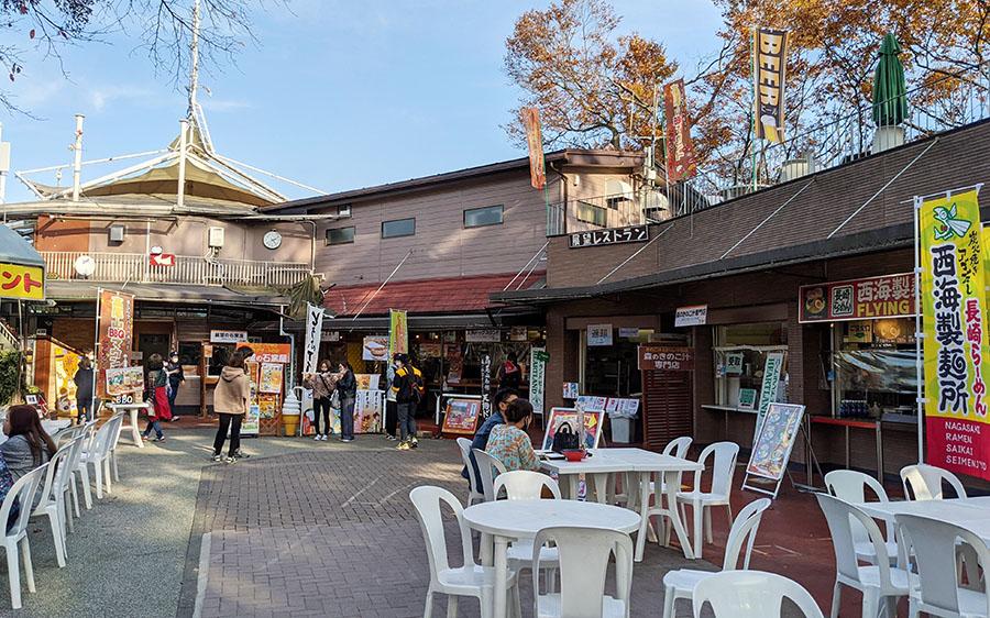 高尾山展望レストランのフードコート