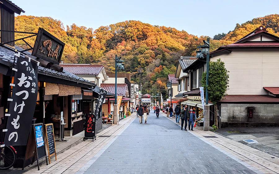高尾山登山口周辺のお店