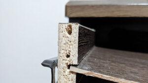 ゆるく広がった木材のネジ穴の修復方法
